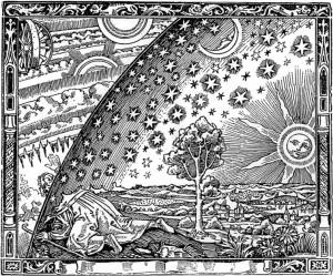 L'atmosphère : météorologie populaire (1888) de Camille Flammarion.